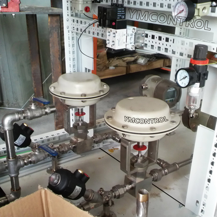 SNCR脫硝708氣動薄膜微小流量調節閥