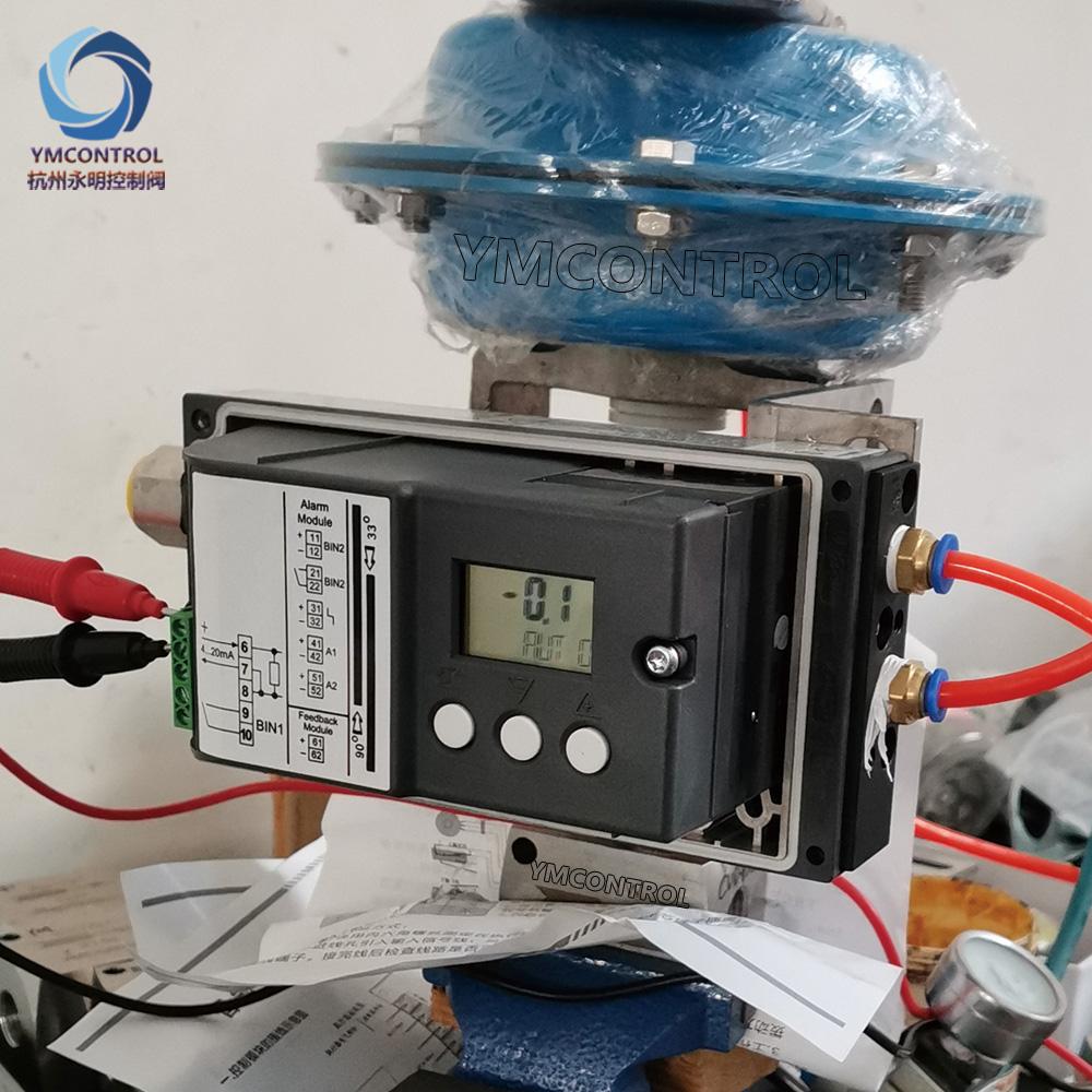 气动薄膜微小流量阀产品图西门子6DR5智能阀门定位器调试