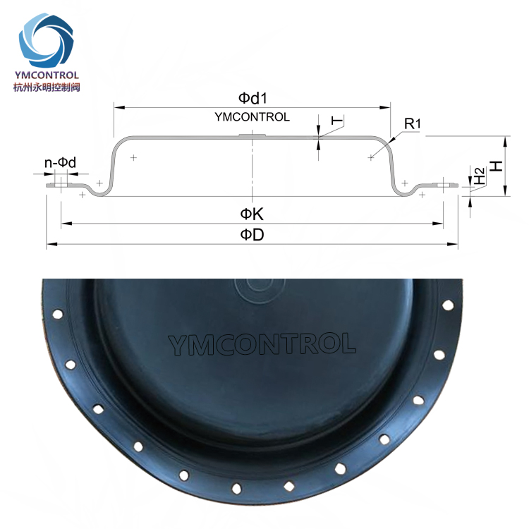 ARCA-812-811調節閥膜片