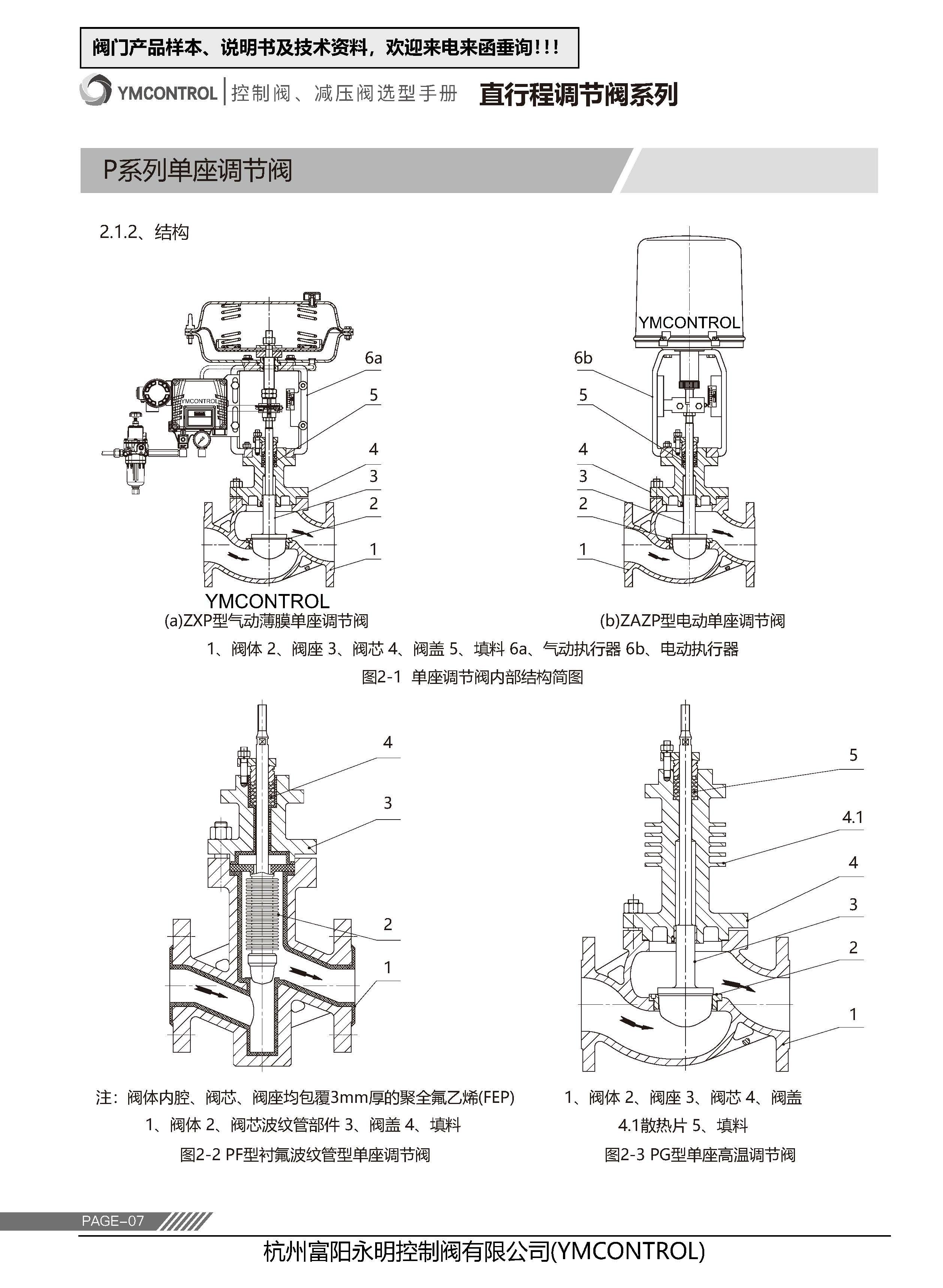 ZDLP-ZAZP電動單座調節閥樣本說明書