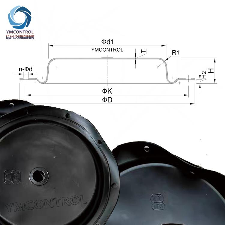 MF2,MF3,MF4,MF5_MF,ECOTROL系列多弹簧执行机构膜片