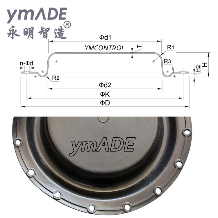调节阀波纹膜片ZMA-1,2,3,4,5,6,AB精小型 膜片生产厂家