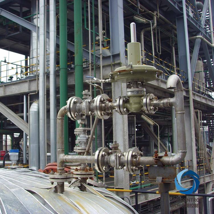 ZZDG-ZZVP儲罐氮封自力式泄氮閥使用現場